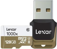 Lexar Professional 1000x 128 GB MicroSDXC Class 10 150 MB/sMemory Card