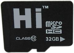 Hi 32 GB MicroSDHC Class 10 145 MB/sMemory Card