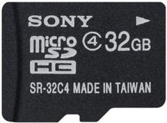 Sony 32 GB SDHC Class 4Memory Card