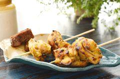 Roasted Chicken Achaari Tikka