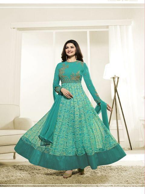 Stylish Designer Green Color Designer Suit