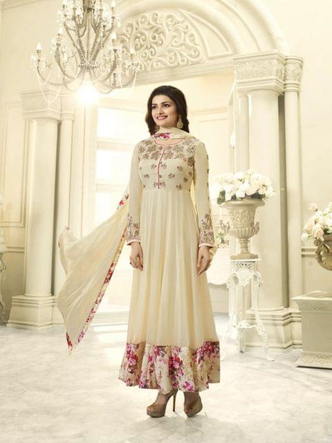 Stylish Designer Beige Color Designer Suit