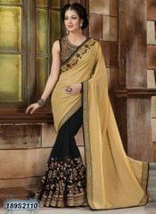 Beige Color Faux  Georgette  Saree 189S2110