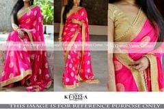 Silk Jacquard Saree KT-3222