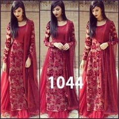 Maroon Color Designer Lehenga style-1044