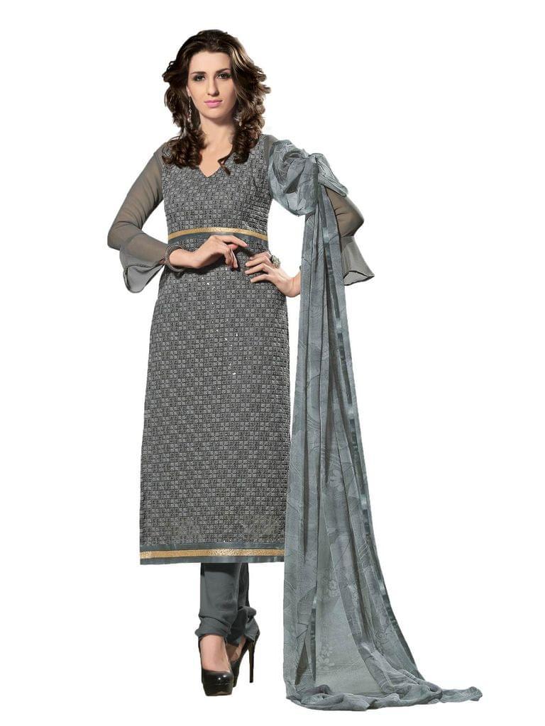 Varanga   Semi Stitched Suit 38