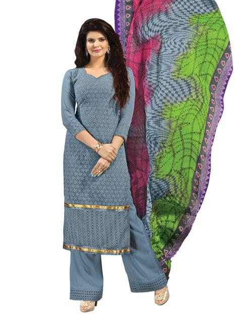 Varanga   Semi Stitched Suit 39