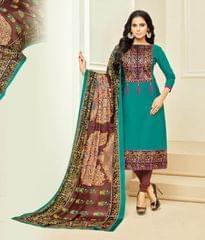 Designer Unstiched Salwar Suit_28609