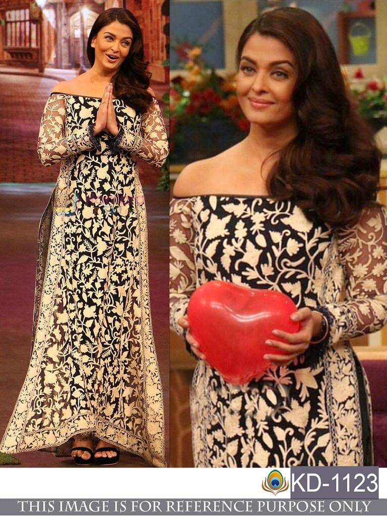 Bollywood Style Fancy Long Kurti_KD-1123