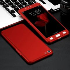 Oppo F3 Red Color Ipaky Cover