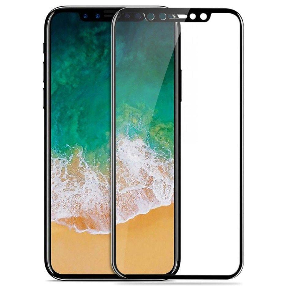 iphone X black 5D curved Tempered Glass  5d 13