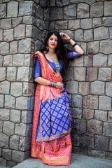 Pink Color Designer Patola Silk Saree 30562