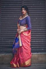 Pink Color Designer Patola Silk Saree 30564