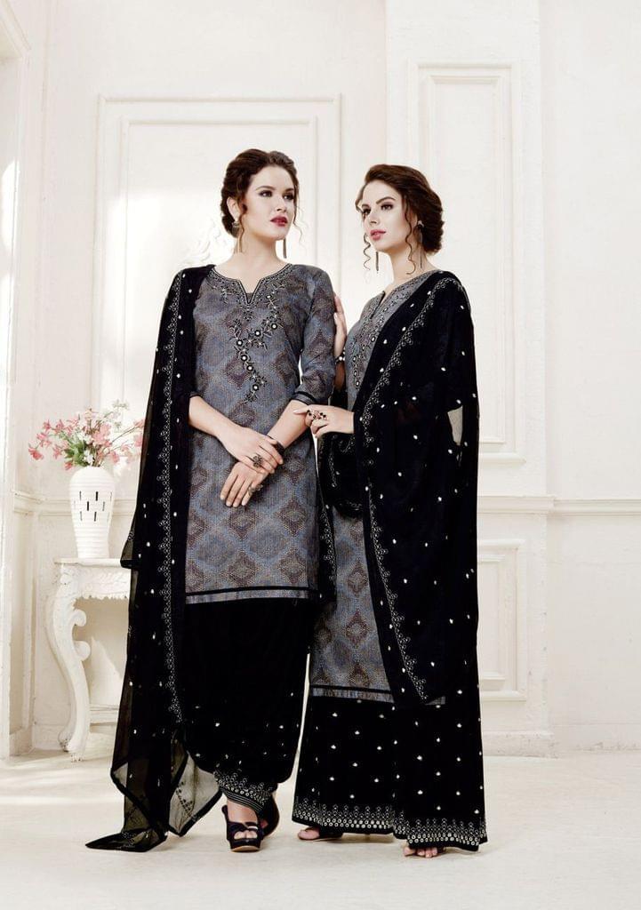 Multi ColorColor Exclusive design Printed Patiala Suits30433