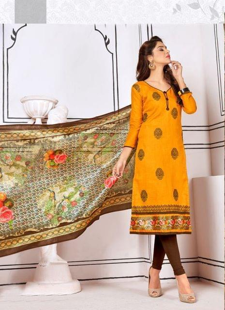 Yellow Color Designer Trendy Salwar Suit 29192