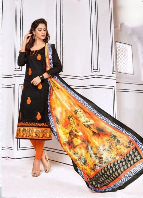 Black Color Designer Trendy Salwar Suit 29193
