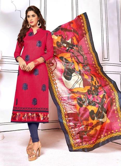 Red Color Designer Trendy Salwar Suit 29198