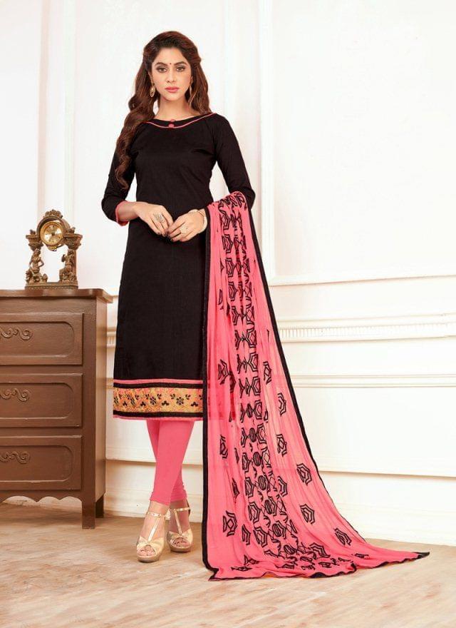Black Color Designer Traditional Salwar Suit 29201