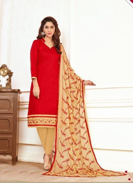 Red Color Designer Traditional Salwar Suit 29202