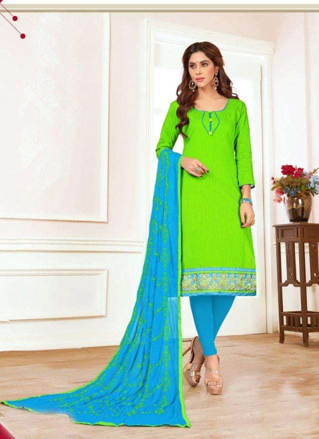 Green Color Designer Traditional Salwar Suit 29203