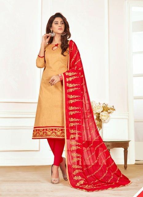 Beige Color Designer Traditional Salwar Suit 29204