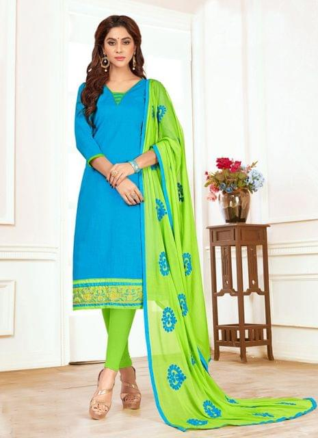 Blue Color Designer Traditional Salwar Suit 29208