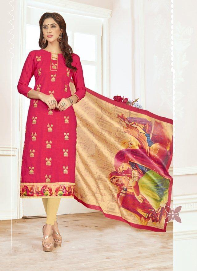 Pink Color Designer Traditional Salwar Suit 29212