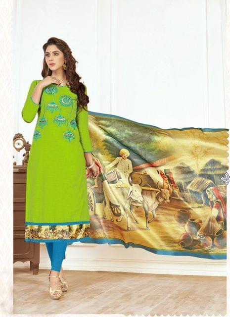 Green Color Designer Traditional Salwar Suit 29215