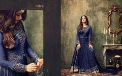 Light Blue  Color Anarkali Salwar Suit   707-Blue