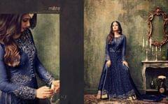 Light Blue  Color Anarkali Salwar Suit  707-Blue