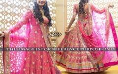 Semi Stitched Banglory Silk Lehenga Choli kt-2020