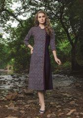 Grey  Color Designer Readymade Kurti 30932