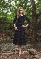 Black Color Designer Readymade Kurti 30933