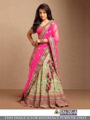 Pink Color Benglori Silk Lehenga Choli _SN-23-A