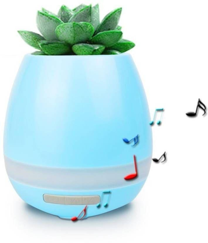 ZEVORA Smart Music Flower Pot Playing by Leaf Touc