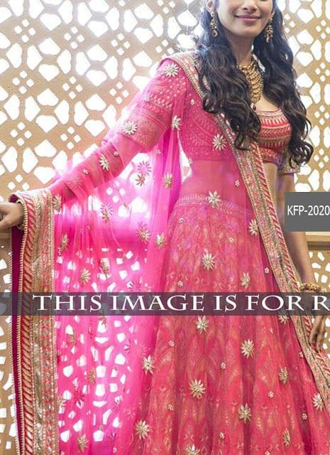 Buy Pink Banglori Silk Heavy Lehenga Choli