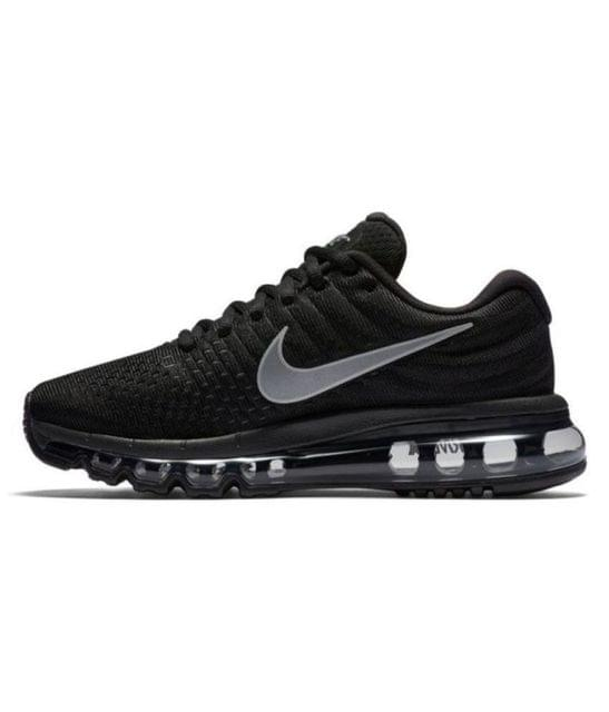 AIR MAX 2017 Black Running Shoes