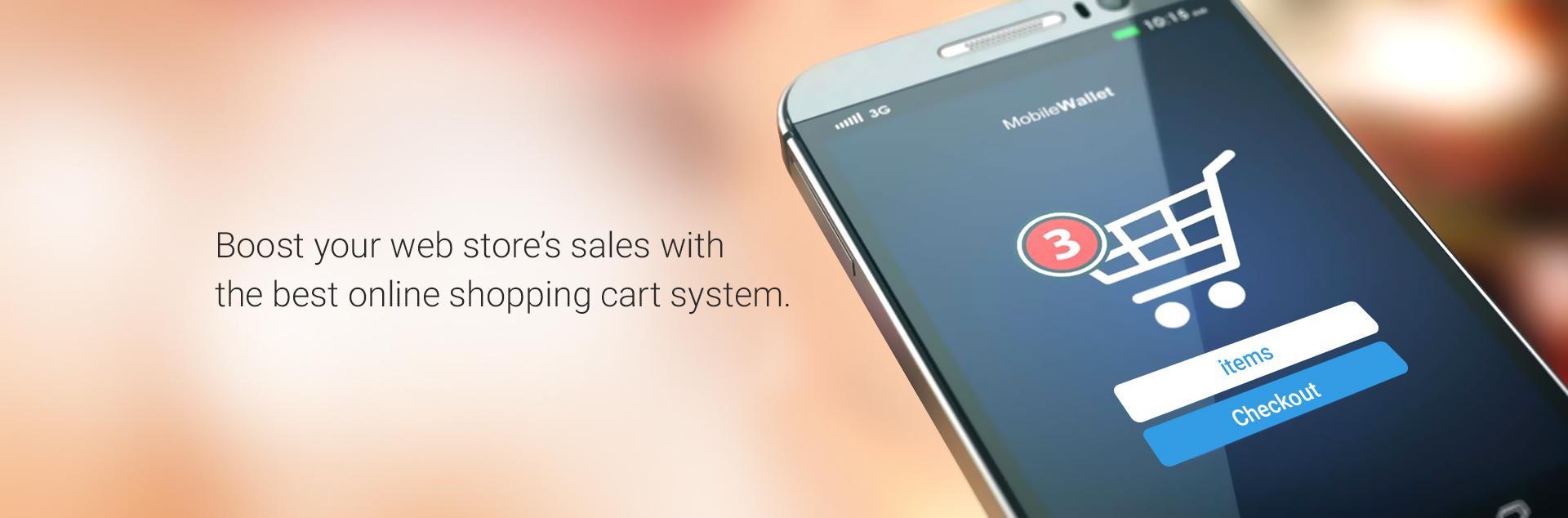 Online shopping cart system