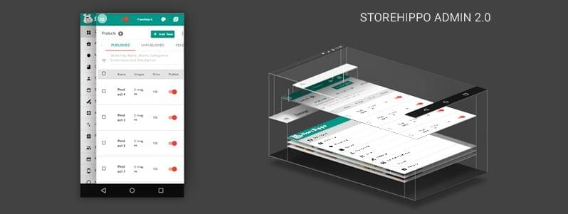 StoreHippo adapts #MaterialDesign, launches Admin 2.0