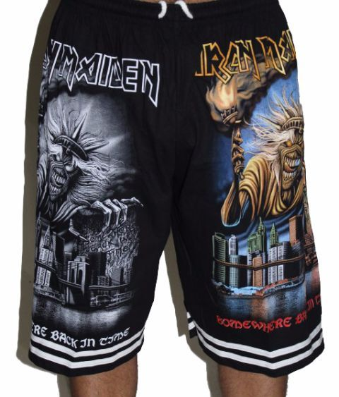 Iron Maiden Premium Shorts - Free Size (28 inches to 46 inches)