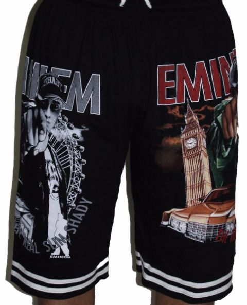 Eminem-The Real Slim Shady Premium Shorts - Free Size (28 inches to 46 inches)