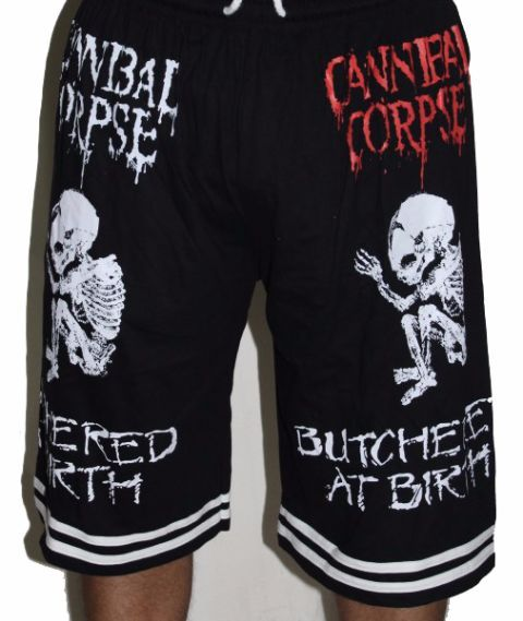 Cannibal Corpse-Butchered at Birth Premium Shorts - Free Size (28 inches to 46 inches)