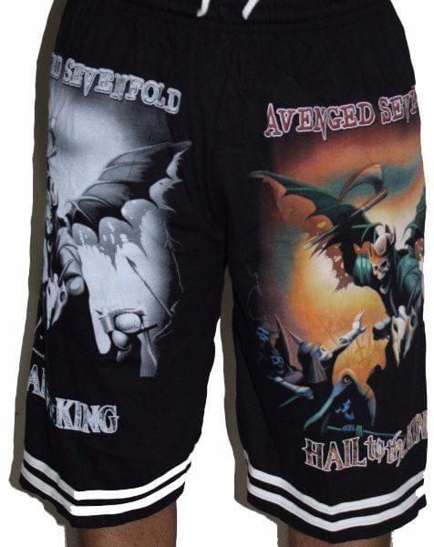 Avenged Seven Fold Hail to the King Premium Shorts - Free Size (28 inches to 46 inches)