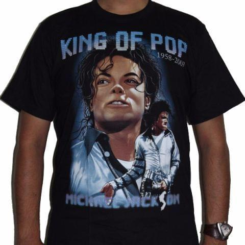 Michael Jackson King of Pop Premium Tshirt