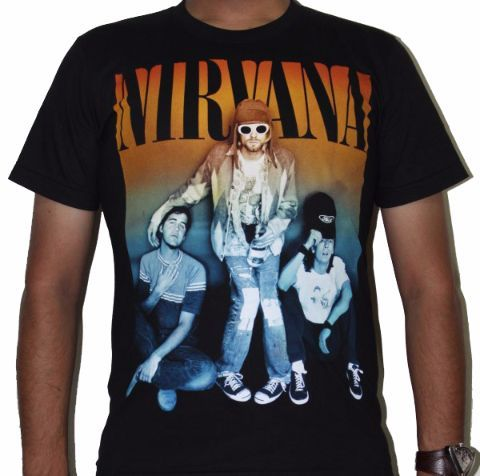 Nirvana Kurt Cobain Premium Tshirt