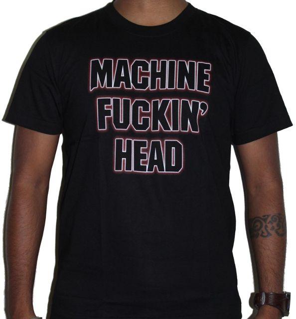 Machine Fucking Head - Supercharger Premium Tshirt