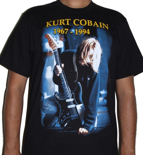 Nirvana Kurt Cobain Suicide Note Premium Tshirt