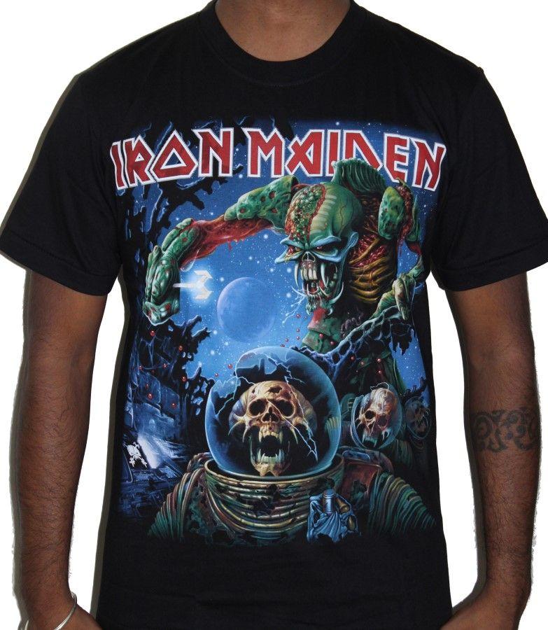 Iron Maiden The Final Frontier Premium Tshirt