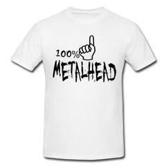 100% Metalhead Premium Tshirt