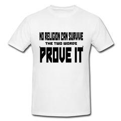No Religion Can Survive Premium Tshirt